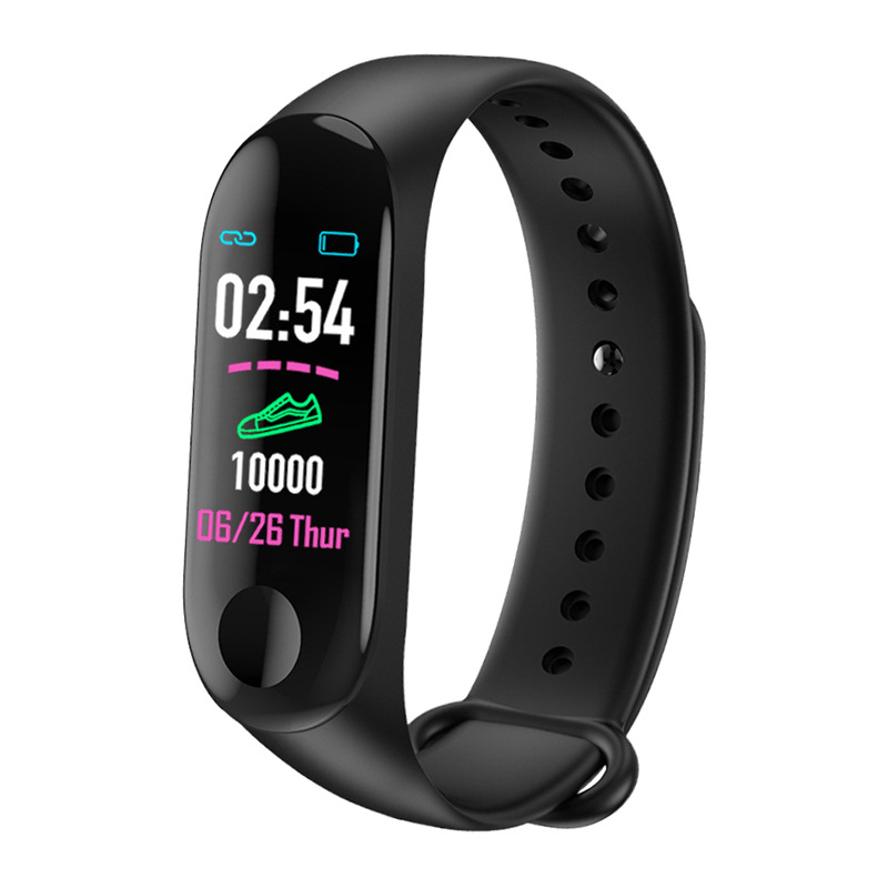 Wrist Sport Fitness Watch Bracelet Display Sports Tracker Digital LCD Walking Pedometer Run Step Calorie Counter WristBand