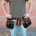 Waist bag for tools Ermak, the double hammer holder 57*27*9 cm blade hammer soldering thermos discount sale high quality 679-009
