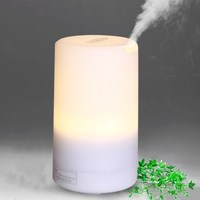 100ML LED Essential Oil Diffuser Air Humidifier Aromatherapy Electric Diffuser 7 Led Lights Aroma Diffusers DC