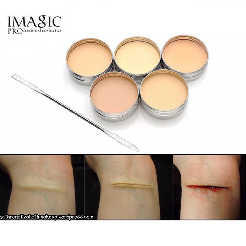 halloween derma modeling fake wound scar eyebrow blocker wax spatula tool special effect makeupchina - Halloween Fake Wounds