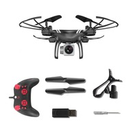 KY101 RC Drone Wide Angle Lens 0.3MP Camera Wifi FPV Live Quadcopter Altitude Hold Headless Helicopter 2.4GHz Drone 4 Channels