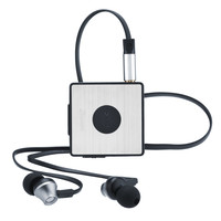HM2010 Mini Clip Bluetooth 4 0 Headset Wireless Headphone Stereo Earbuds Earphone Receiver Adapter Built In