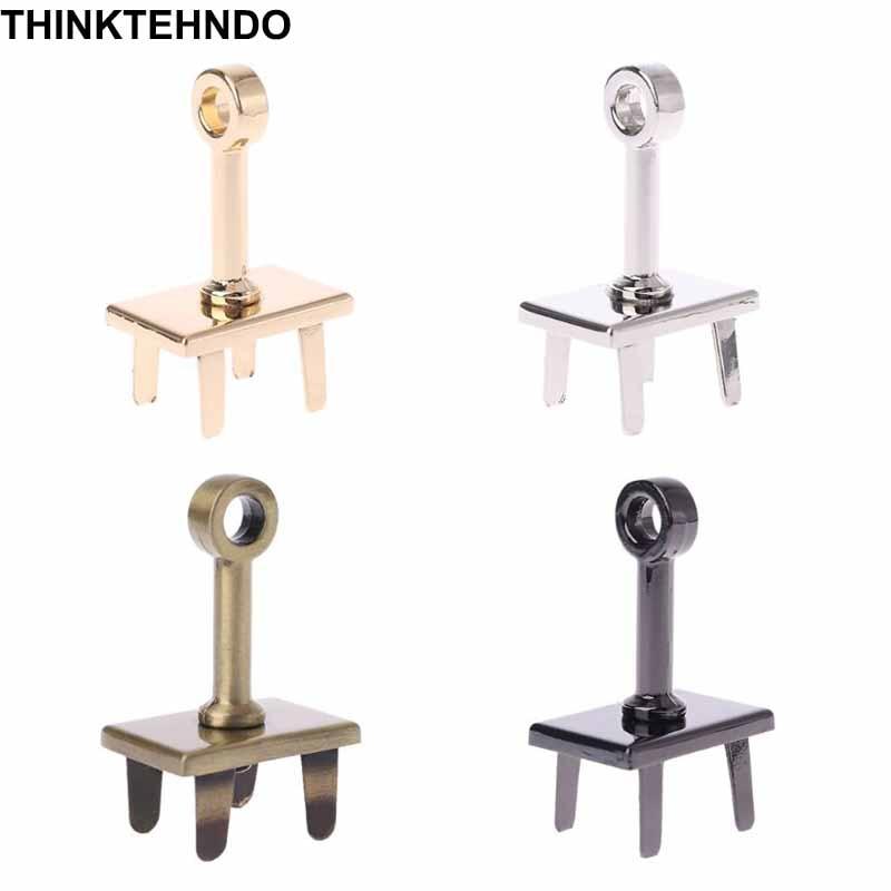DIY Hardware Leather Handbags Pole Twist Lock Plate Base Decoration Accessories