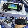 4.1 Pulgadas Jugador Handheld del Juego de 64 Bits Consola de juegos 4G MP5 Jugador Del Juego 200 Tipos de las consolas portátiles Multimedia clásico juegos