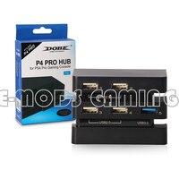 New PS4 Pro Hub USB Ports W 5 USB Port High Speed USB With 1 3