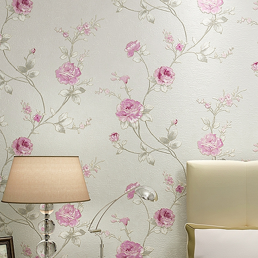 все цены на Florals for Rooms Camellia Mural Wallpaper Roll papel de parede para quarto Girls  wall papers home decor онлайн