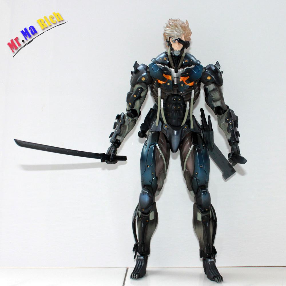 Game Figure 28 Cm  Square Enix Metal Gear Rising Revengeance Metal Gear Solid Raiden Pvc Action Figure Collectible Model Toy
