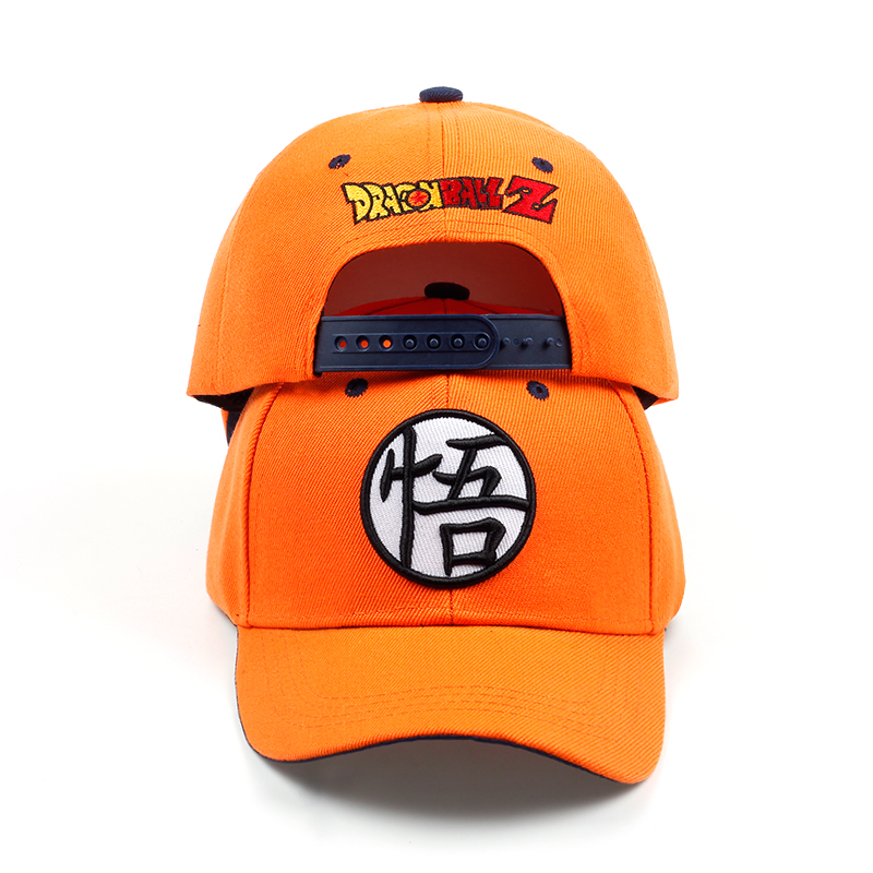 HTB1ZowTjIuYBuNkSmRyq6AA3pXaC - new High Quality Cotton Dragon Ball Z Goku Baseball Caps Hats For Men Women Anime Dragonball Adjustable HipHop Snapback cap