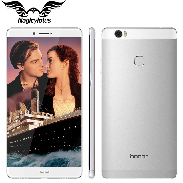 Оригинал Huawei Honor 8 4 Г LTE Окта основные 2.5 ГГц 6.6 дюйма 2560*1440 Экран 4 ГБ 64 ГБ Металлический Корпус 4500 мАч Батареи Мобильного Телефона