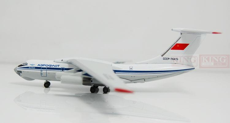 WT4I76017 Witty Russian aviation 1:400 IL-76TD commercial jetliners plane model hobby 11010 phoenix australian aviation vh oej 1 400 b747 400 commercial jetliners plane model hobby