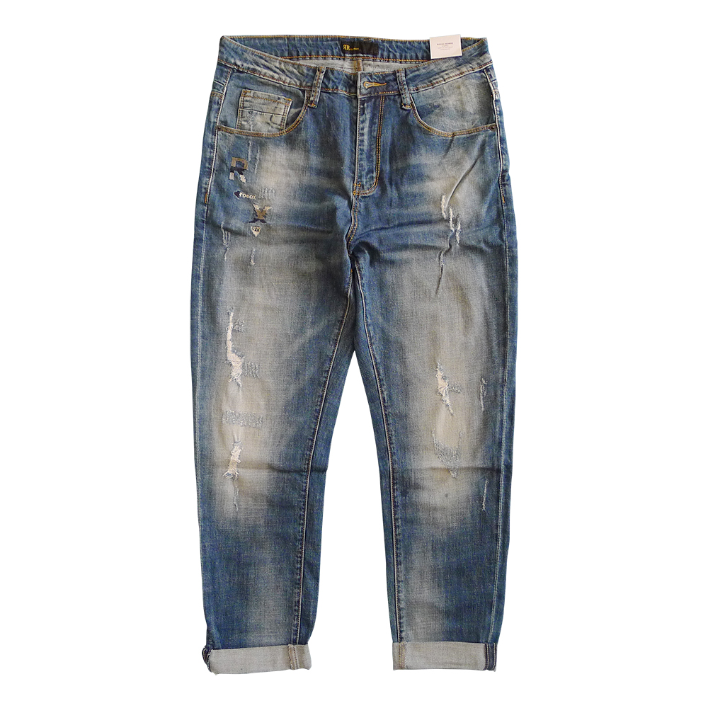 2017 New Arrivals Fashion embroidery jeans men brand-clothing blue straight denim pants male top quality stretch jeans pants men s cowboy jeans fashion blue jeans pant men plus sizes regular slim fit denim jean pants male high quality brand jeans