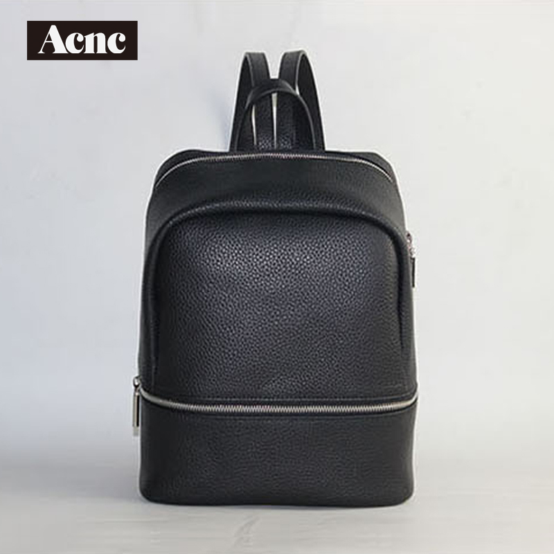 Acnc legend Genuine leather women backpack,lady leather backpack leather school bag,free shipping vieline genuine leather women backpack famous brand lady leather backpack leather school bag free shipping