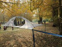 Открытый Отдых, приключения Палатки, комаров Сетки для автомобиля Гамаки приостановлено Палатки висит дерево Палатки