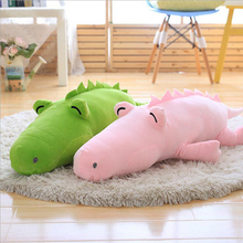 Creative Lovely Crocodile Short Plush Toys Stuffed Doll Plush Pillow Cushion Send to Children & Friends Gift цена 2017