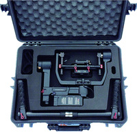 black hard abs plastic safety DJI Ronin M tool case with customized foam