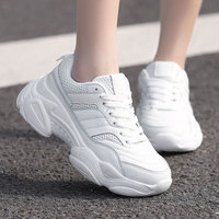 2019 Ins Hot Sale Autumn Fashion Women Casual Shoes Leather Platform Shoes Women Sneakers Ladies White Trainers Chaussure Femme