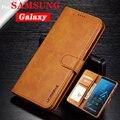 Caso de Couro da aleta Para Samsung Galaxy S8 S9 S10 E Plus Note10 Pro S7 UM 10 20 40 50 60 70 80 90 M 10 20 Tampa Casos de Telefone Carteira