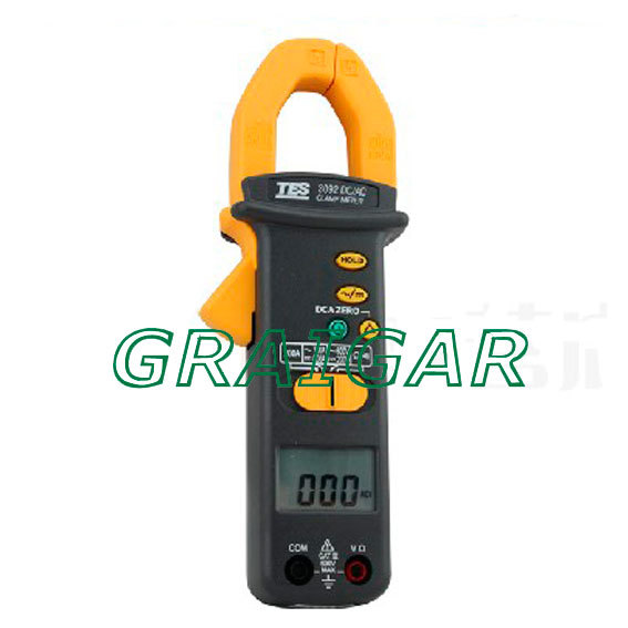 Free shipping new 100% sales promotion AC / DC 700A Clamp Meter/TES-3092 DC/AC CLAMP METER