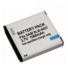 3,7 v 1000mAh SLB 0937 SLB 0937 Wiederaufladbare Digital Kamera Batterie Für Samsung L730 L830 i8 NV33 NV4