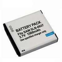 3.7v 1000mAh SLB-0937 SLB 0937 Rechargeable Digital Camera Battery For Samsung L730 L830 i8 NV33 NV4