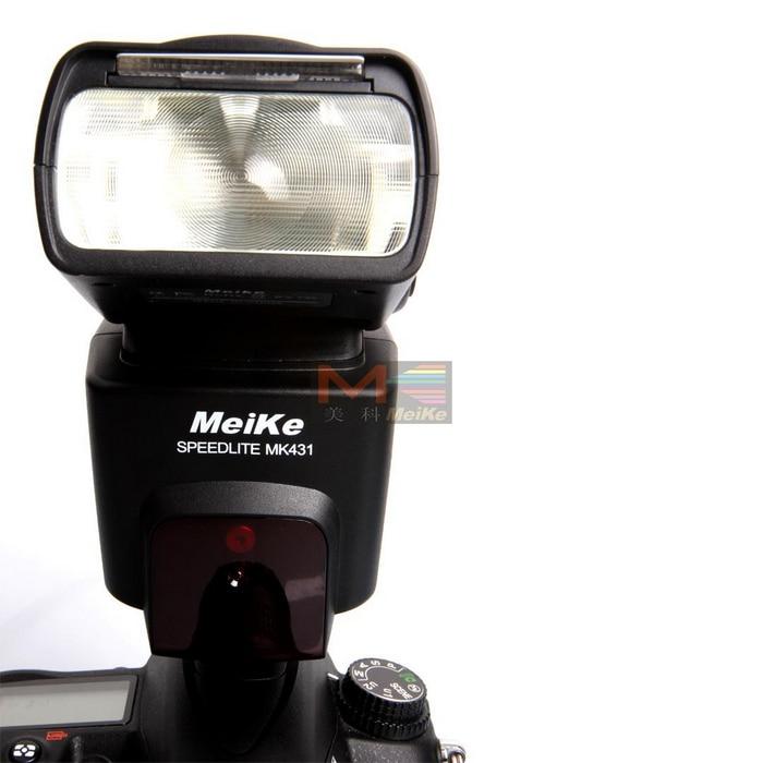 Meike MK-431 MK431Flash Flashgun Speedlite for Nikon D7000 D5100 D3100 D800 D7100 D5000 D5200 D3000 D3200 D90 D960 D80 D300s meike flash diffuser for nikon sb400 white