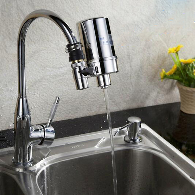 High Quality Household Kitchen Activated Carbon Faucet Mounted Pre Acticarbon Cartridge Tap Water Filter 1pcs kitchen water filter faucet healthy ceramic cartridge tap household activated carbon faucet mineral clear filter for water