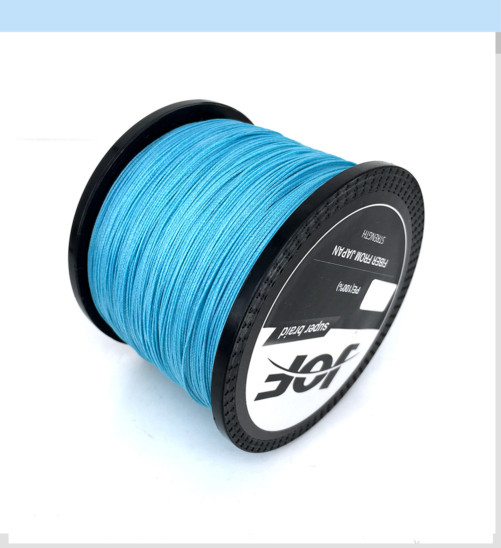 1000M Multifilament Fishing Line 100% PE Braided 4 threads fly fishing line for carping fishing  30 40 50 60 80 100lb 6