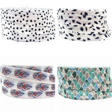 Headband-Accessories Hair-Ties-Strap Stretchy-Band Elastic Fold-Over Dreamcatcher-Print