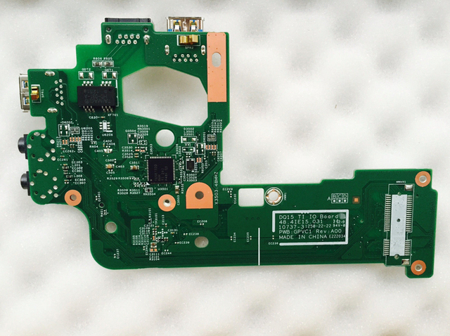 US $15 0 |1 Lot/ 5 PCS NEW for DELL Inspiron N5110 Daughter board  WLAN/Audio USB/LAN(RJ45) 2F34T 4WY5K-in Tablet LCDs & Panels from Computer  & Office