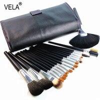High Quality Sable Hair Makeup Brushes Set 18pcs Professional Makeup Tools Kit