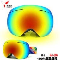 Men Women Anti Fog Ski Snow Goggles Spherical Lens Best Ski Goggle Skiing And Snowboarding Gafas