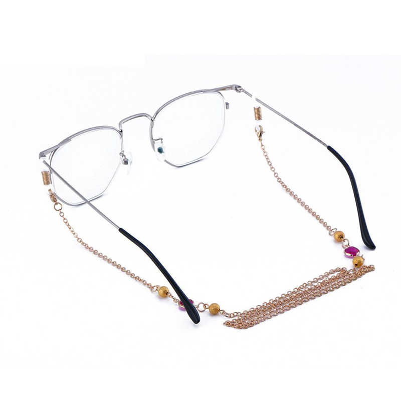 Copper Curb Chain Reading Glasses Sunglass Eyewear Spectacles Cord Necklace Xmas