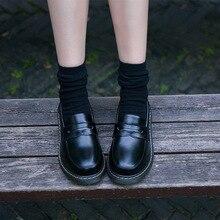 8015704b Otoño 2018New británico Martin zapatos hijo japonés mujer Colegio viento  uniforme versión coreana de Bellefort zapatos de mujer .