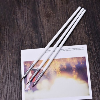 6 Pcs/Set Round Tip Watercolor Drawing Brush Pen Student Stationery Art Supplies Fine Hand-painted Hook Line Pen 15pcs artist stationery professional fine hand painted hook line pen round tip watercolor drawing painting brush art supplies