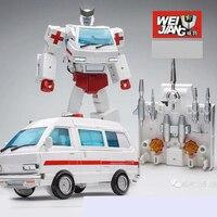 G1 Transformation Ratchet Oversize MPP30 MPP 30 TF Alloy Metal Enlarge MP30 MP 30 ambulance Leader Figure Robot Toys