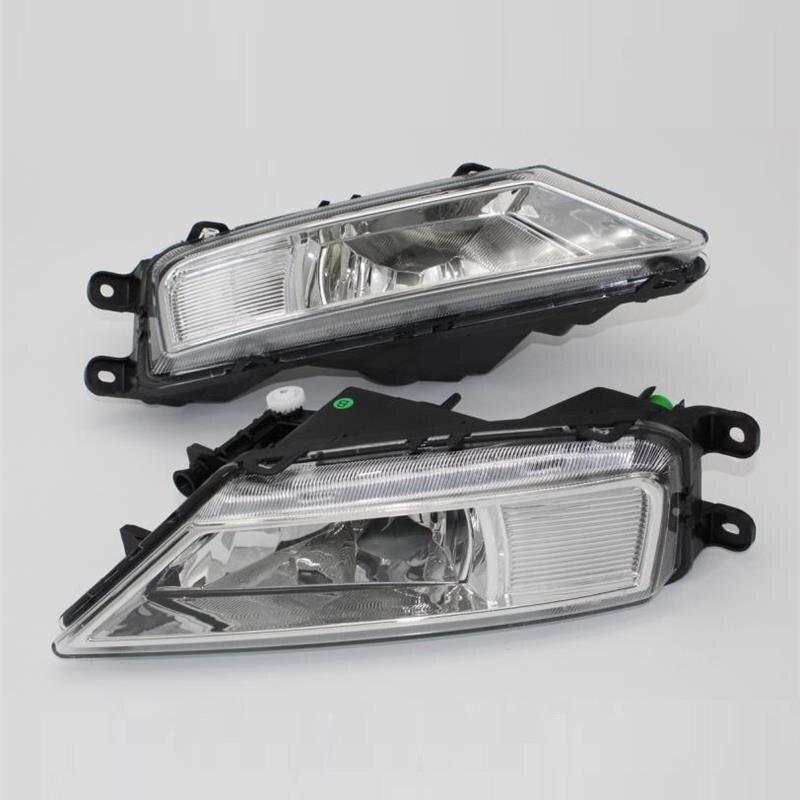 Car Light For VolksWagen VW Tiguan 5N 2016 2017 Car-Styling Front Bumper Halogen Fog Light Fog Lamp 5 5 car obd2 ii