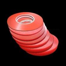 3 м, 5 мм, 6 мм, 8 мм, 10 мм, 12 мм, 15 мм, двухсторонняя клейкая суперпрочная прозрачная акриловая клейкая лента без следов, наклейка
