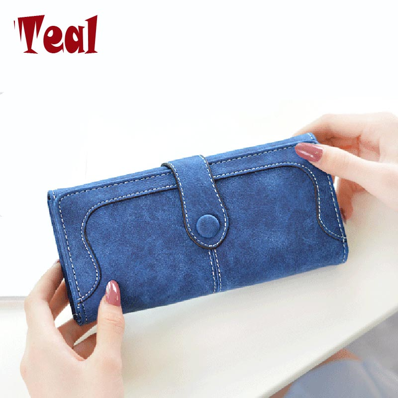 women's purse for coins cartera leather clutch wallet women luxury brand dollar price money clip wallet women's purse for coins dollar price new european and american ultra thin leather purse large zip clutch oil wax leather wallet portefeuille femme cuir