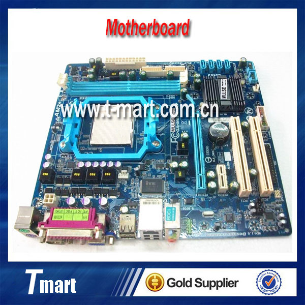 High quality Desktop Motherboard for GA-M68M-S2P Socket AM2/AM2+/AM3 DDR2 fully tested&working perfect original for ga ma78lm s2 desktop motherboard 940pin am2 am3 ddr2 100% tested