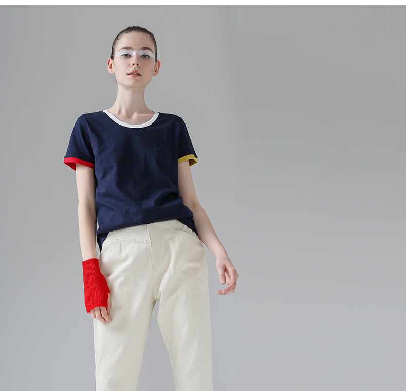 HTB1Zp.yPpXXXXcUaXXXq6xXFXXXh - T Shirt Women Short Sleeve O-Neck Cotton