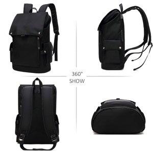 Image 2 - Scione Men Fashion Backpack Laptop Backpack For Men 2020 Waterproof Travel Outdoor backpack School Teenage Mochila Bag