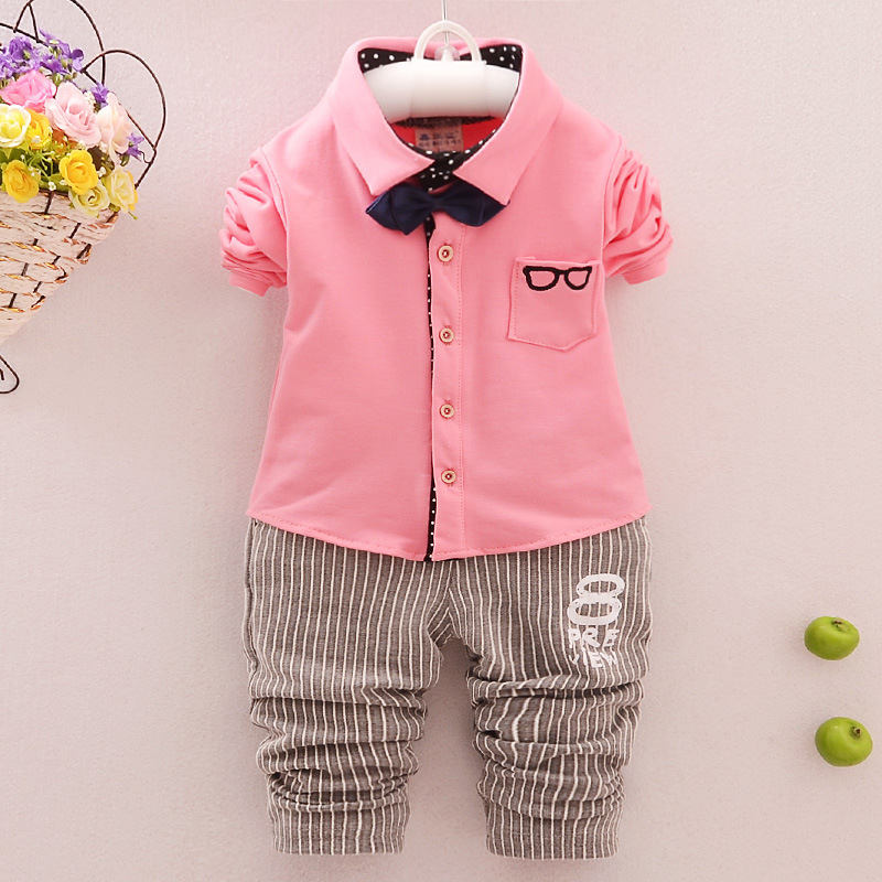 Fashion boys suits for weddings clothing sets Gentleman costume for boy Baby Suit Butterfly Bow Tie Infant Romper Kids Outwear