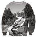 Moda Mulheres Homens 3D Suores Crewneck Camisola Do Tumblr Beyonce Beyonce Sexy Jumper tops suor pullover