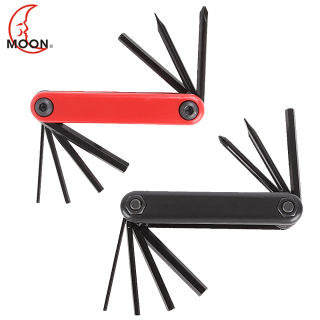 Moon bicycle repair tool multifunctional toiletry kit wrench portable tool
