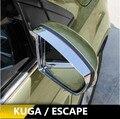 2 Unids/set Visera Espejo Retrovisor Lluvia Ceja Espejo Lateral Espejo Reflectante Pegatina para Ford Kuga 2014 2015 2016 Accesorios