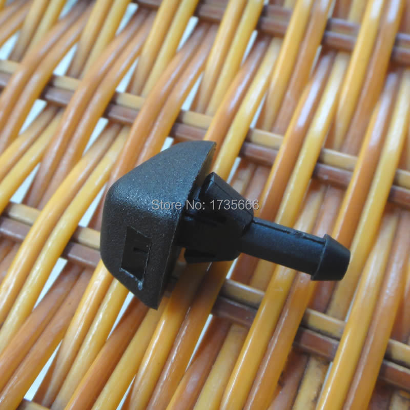 100PCS Windshield Washer Wiper Water Spray Nozzle Jet 30655605 For Volvo C30 S80 C70 XC90 V50