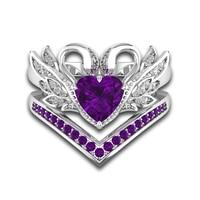 Red/White/Pink/RoyBlue/Purple Swan love romantic luxury couple rings 4