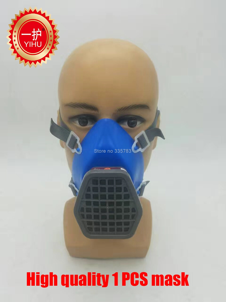 high quality respirator gas mask The newest water chestnut mask with filter Painting pesticide respirator face mask high quality airsoft mask pc the lens used for cs welding polishing dust the face protect mask splash proof material safety mask