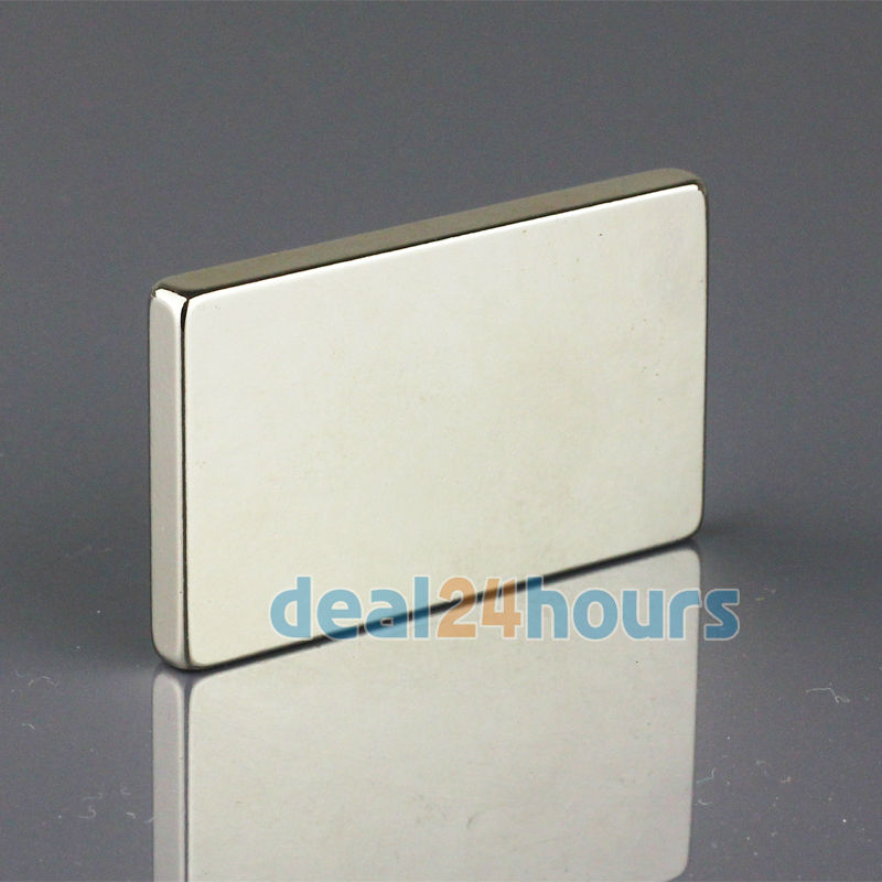OMO Magnetics 1PC Big Bulk Super Strong Strip Block Magnets Rare Earth Neodymium 50 x 30 x 5 mm N35 Free Shipping omo magnetics 10pcs big bulk super strong cuboid block magnets rare earth neodymium 50 x 50 x 5 mm n35 wholesale