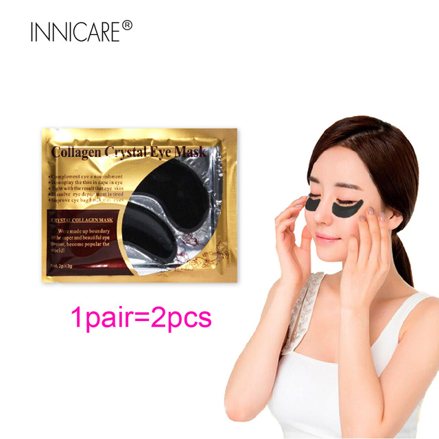 20Pcs=10Pairs Beauty 24K Gold Collagen Eye Mask Patches For Eye Dark Circle Anti-Aging Acne Korean Cosmetics Skin Care 4
